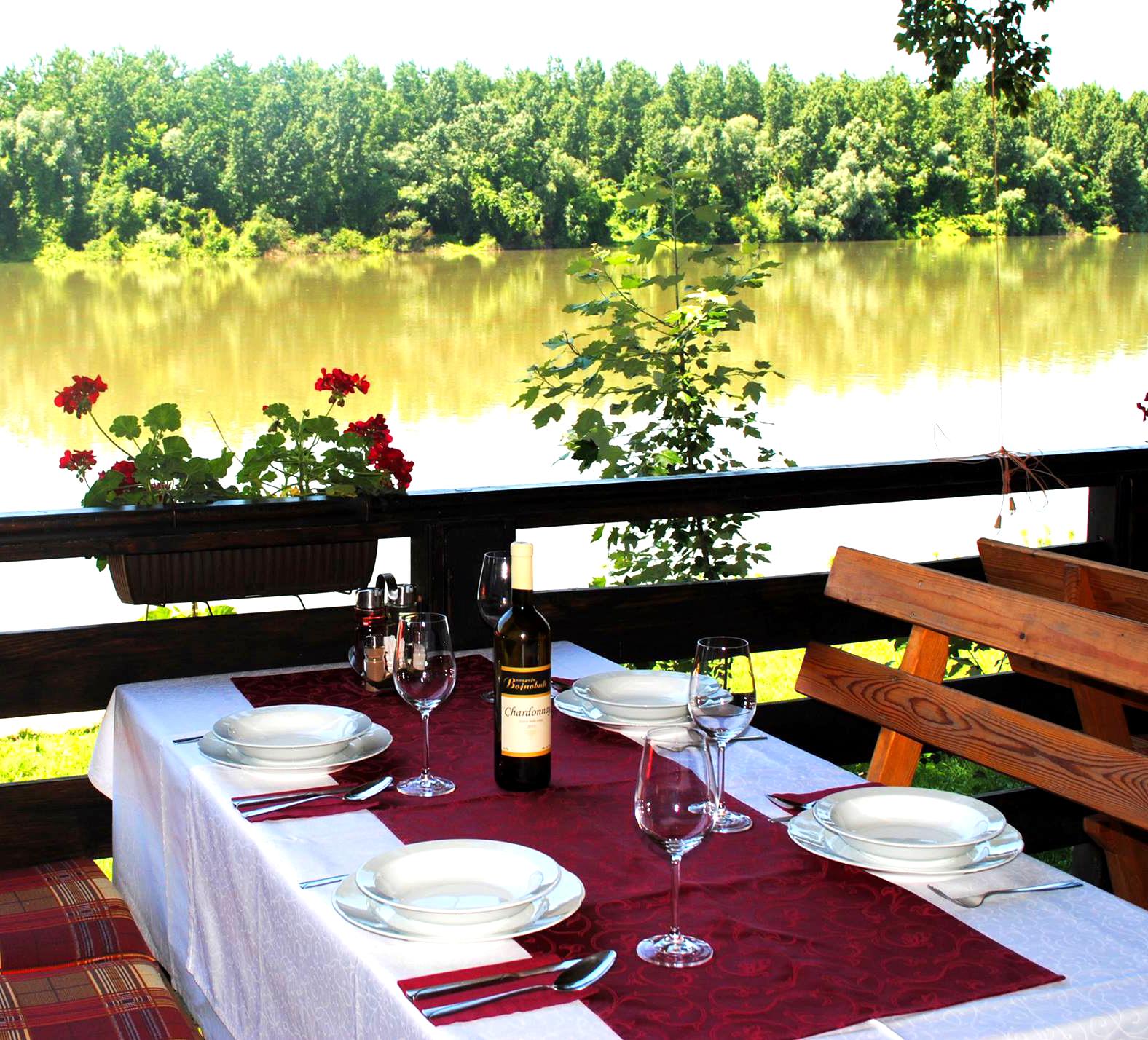 Restoran Babatovo - pogled na reku