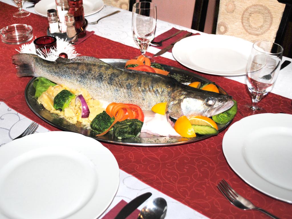 Restoran Babatovo - Domaća riba Smuđ