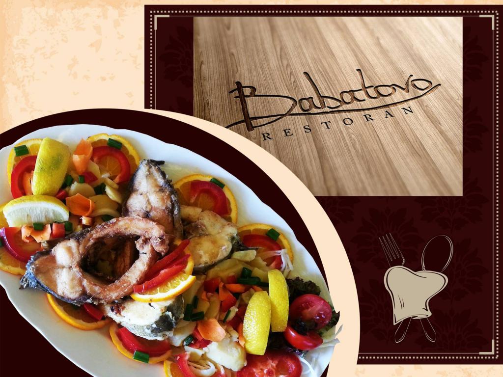 Restoran Babatovo - Domaća mešana riba